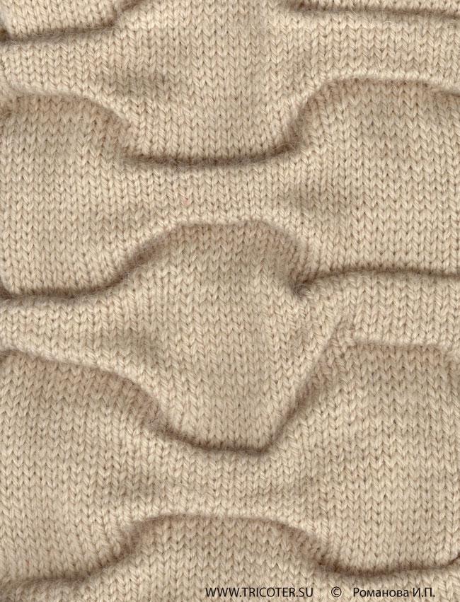 Выполнение полотна в складку с эффектом «клоке»