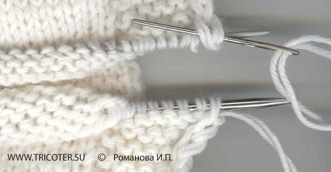Вязание на спицах в две нити 61