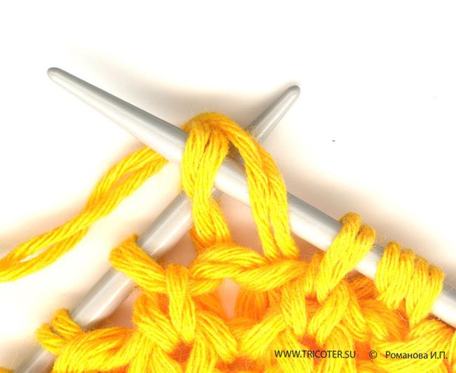 что такое воздушная петля вязание